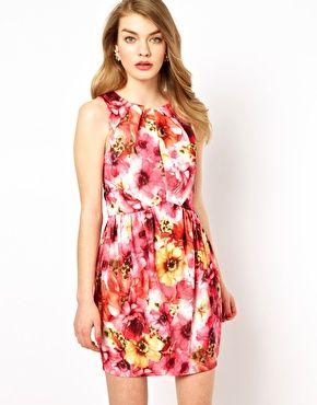 Oasis Anita Print Dress