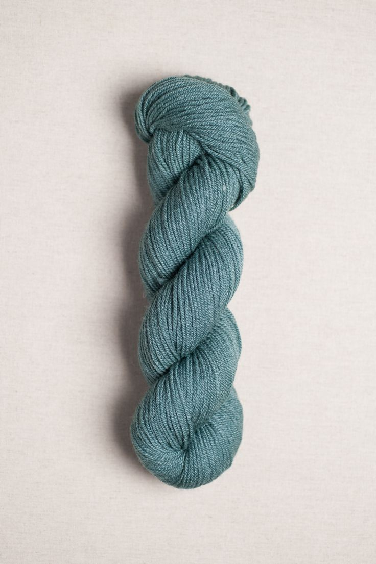 quince&co. // Tern in aventurine (fingering weight) 75% American wool, 25% silk