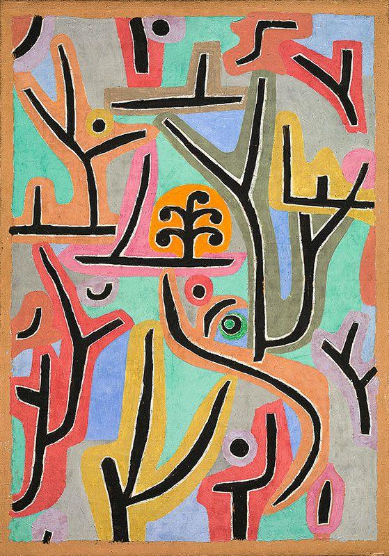 Paul Klee, Park près de Lu, 1938  http://casaprints.com/fr/51-reproductions-de-tableaux-de-paul-klee