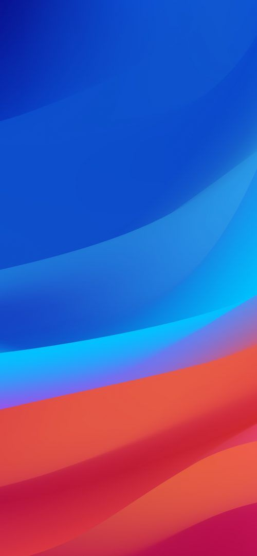 Top 10 Best Alternative Wallpaper for Apple iPhone XS Max 01 of 10 – Blue and Red Abstract