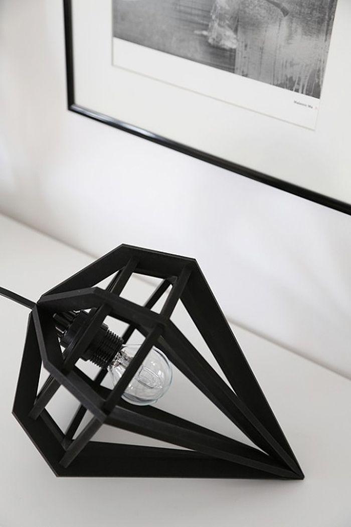 10 candeeiros de mesa originais design pinterest. Black Bedroom Furniture Sets. Home Design Ideas