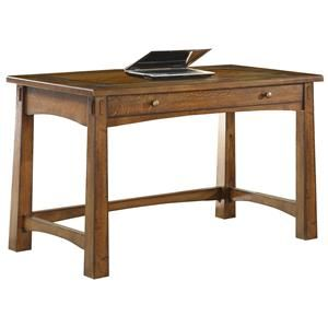 Riverside Furniture Craftsman Home Writing Desk at DuBois Furniture