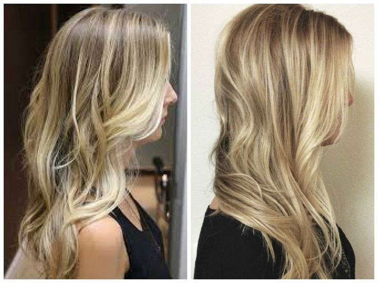 Blonde Hair With Lowlights Long Blonde Hair With