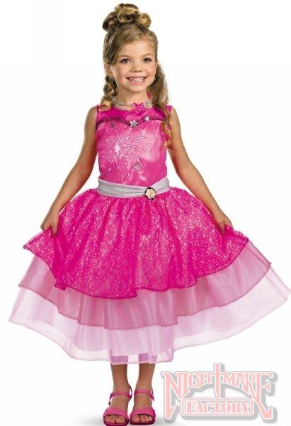 Barbie Fashion Fairytale Child's Halloween Costume in Barbie Costumes   NightmareFactory.com