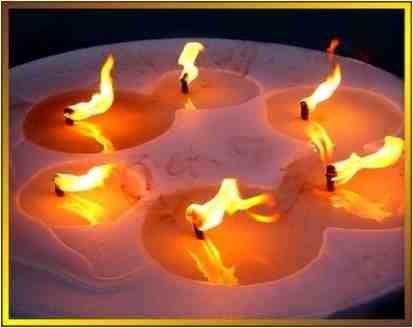 Les bougies et les rituels  Le mot bougie vient du mot latin candere qui signifie: briller. Depuis l'antiquité toutes les civilisations ont utilisé la lumière du feu pour illuminer l'intérieur…