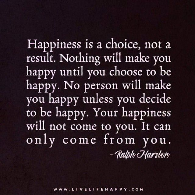 happiness is ... choose happy.