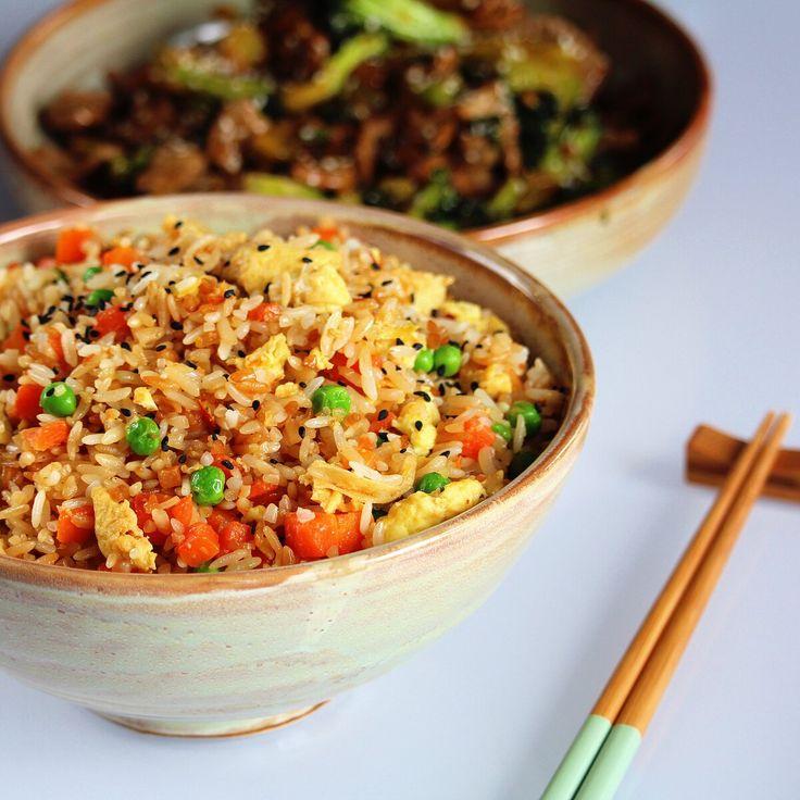 Hibachi-Style Fried Rice | Recipe | Hibachi style fried ... |Hibachi Style Fried Rice