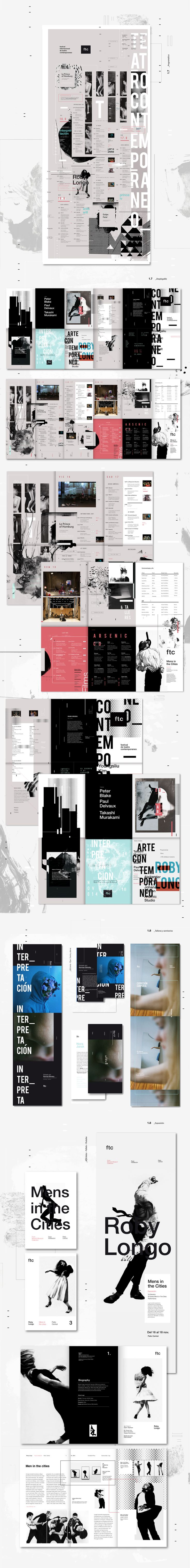 Ftc - Festival de Teatro Contemporáneo - Parte 2 on Behance