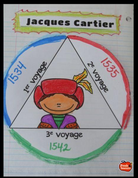 Jacques Cartier et la découverte de la Nouvelle-France… Cahier interactif