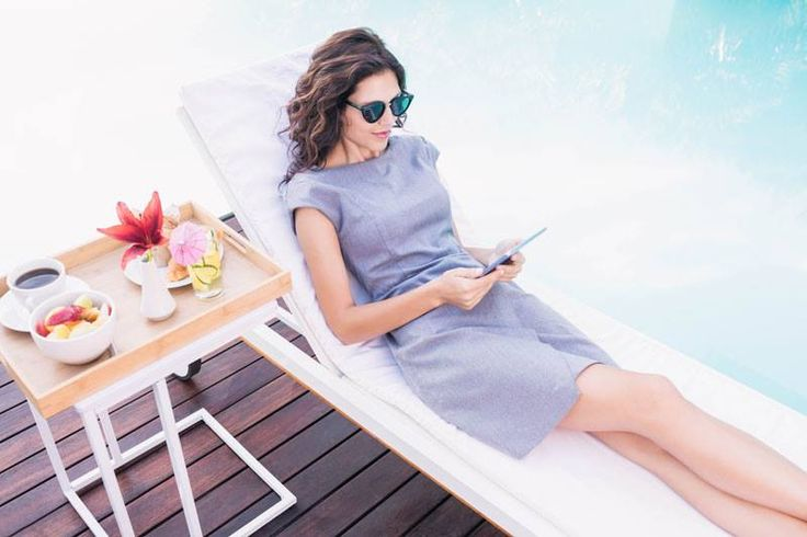 A little poolside pampering never goes out of style http://bit.ly/1W6bEYQ #PullmanLife #WorkLifeBalance #Holiday