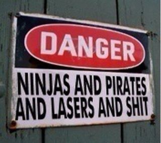 You've been warned!