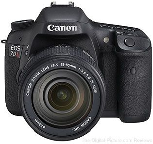 Canon EOS 7D L Left-Handed DSLR Camera: Designed for LEFTIES!  For more images and information on camera gear please visit us at www.The-Digital-Picture.com