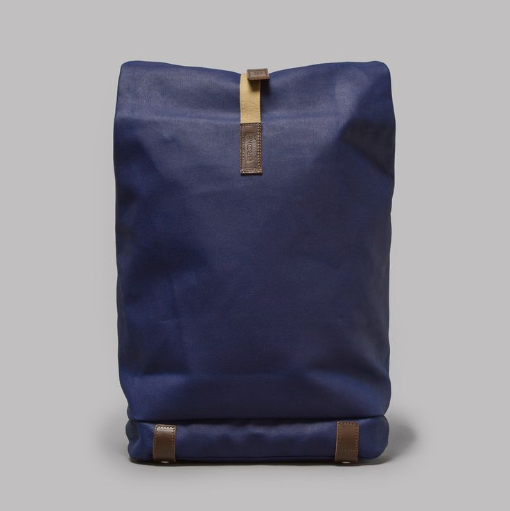 Brooks England Pickwick Rucksack in Blue