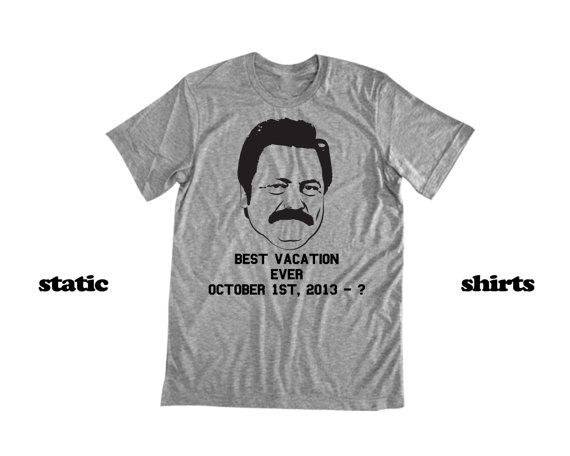Ron Swanson Shirt   Parks and Rec