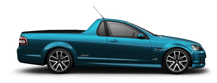 Holden Ute SS (from Australia).  These were rumoured as coming to the US as a Pontiac, but then Pontiac died.