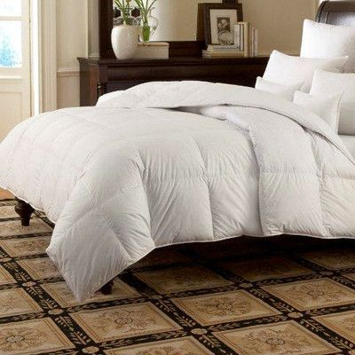 Downright LOGANA Batiste Medium 920 White Goose Down Pillow Size: