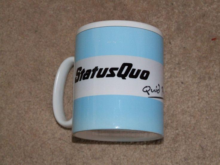 STATUS QUO - QUID PRO QUO TOUR MUG