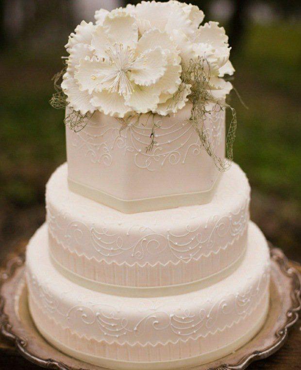 de Gâteaux À Étage De Mariage sur Pinterest  Gâteaux de mariage ...