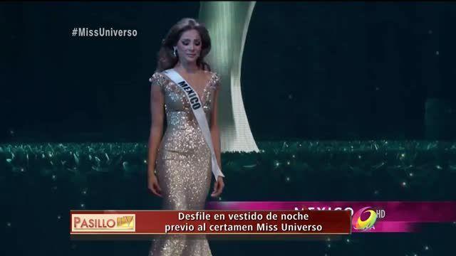 En Pasillo TV Rumbo a Miss Universo 2014, las conductoras y expertos en moda hablaron sobre las preliminares de Miss Universo