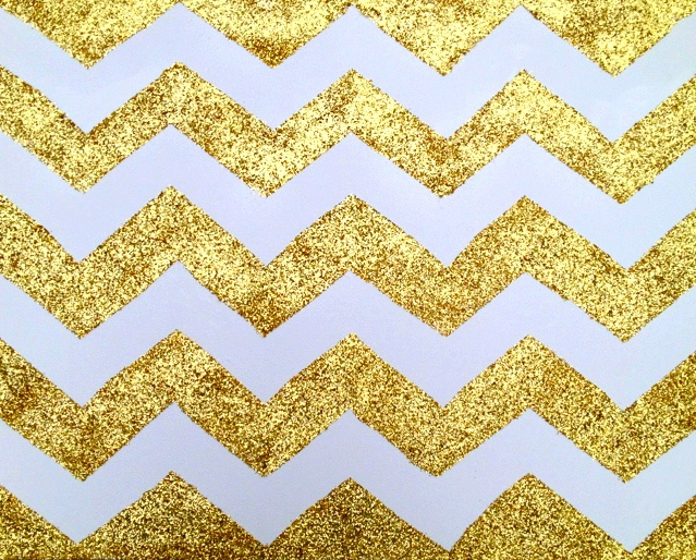 gold chevron for photobooth backdrop!