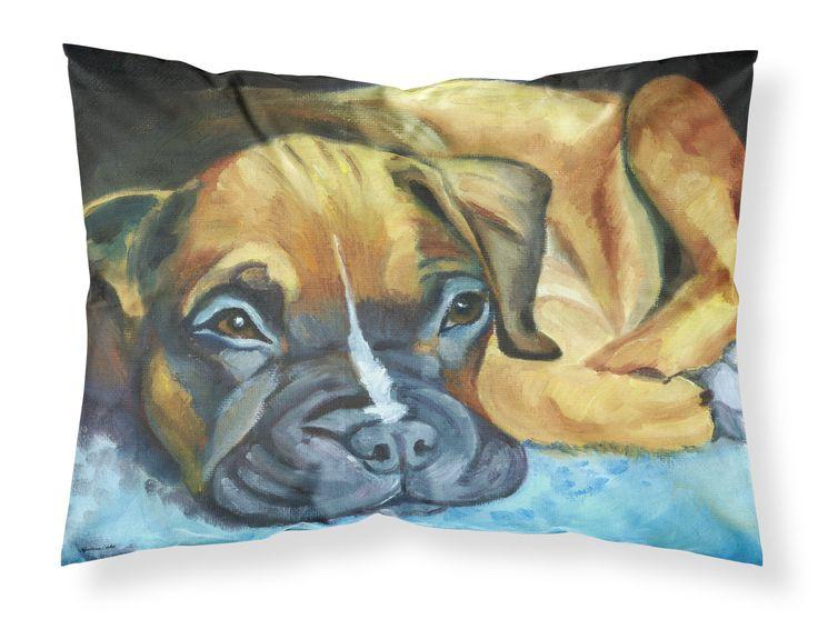 Boxer Pup Fabric Standard Pillowcase 7401PILLOWCASE
