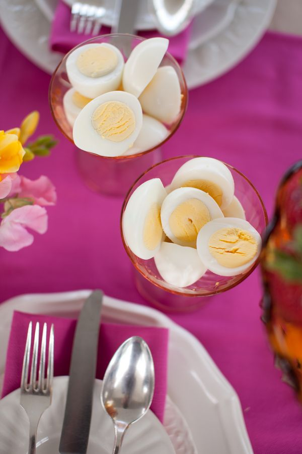 The Brunch I Do's (The Frosted Petticoat) - Boiled Eggs!