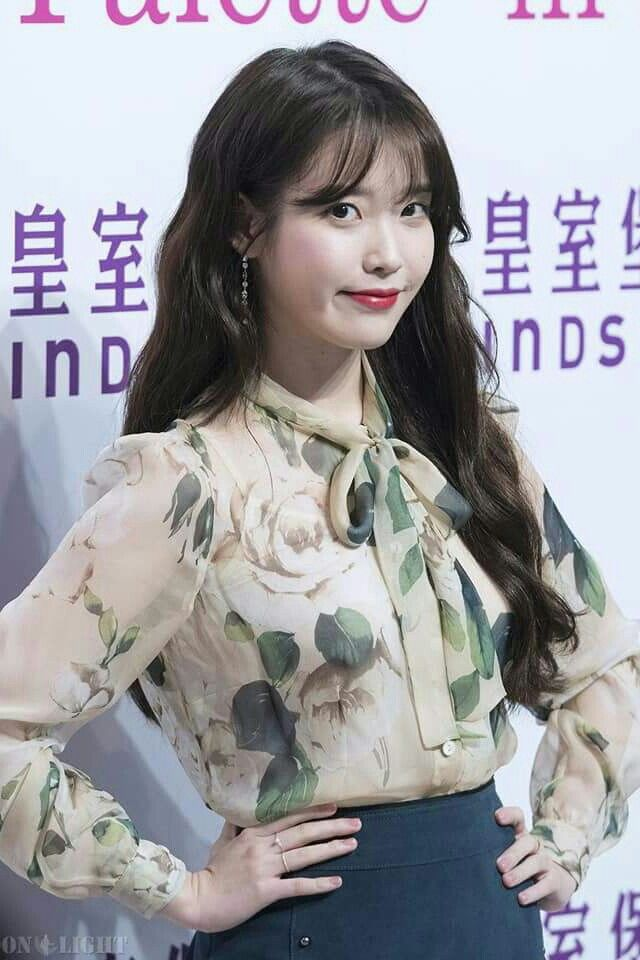 "IU 171124 ""Palette"" Tour Concert in HK Press Conference #Windsor House"