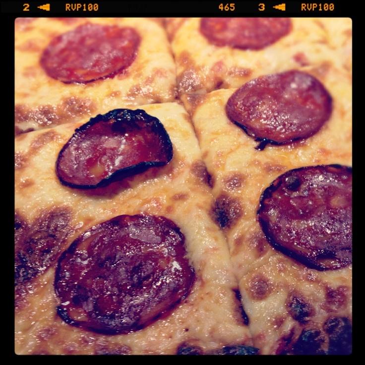 La pizza italienne - très savoureuse!