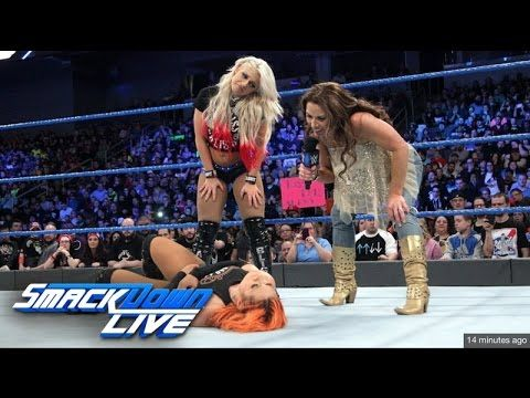 1/24/17 Mickie James Segment - Smackdown Live: Jan. 24, 2017 720p HD - YouTube