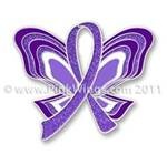 Pancreatic Cancer Butterfly Ribbon