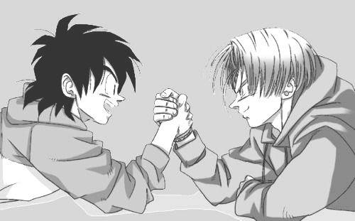 Trunks And Goten -Dragon Ball Z