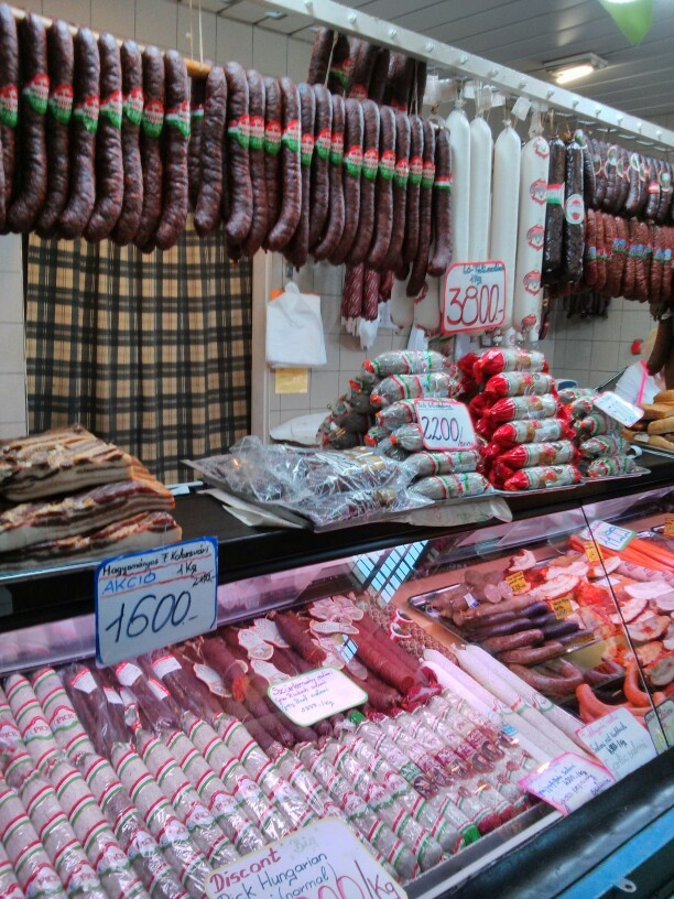 The market in Budapest