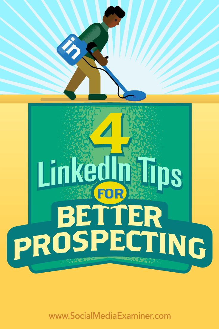 Wondering how LinkedIn can help you generate and connect with leads?  LinkedIn is the go-to social platform for generating leads and building trust with your ideal prospects.  In this article, you'll discover four tips to help you get more out of your LinkedIn sales efforts. Via @smexaminer.