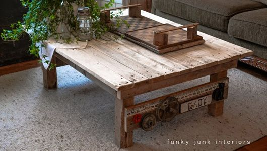 9 furniture ideas made from shipping pallets