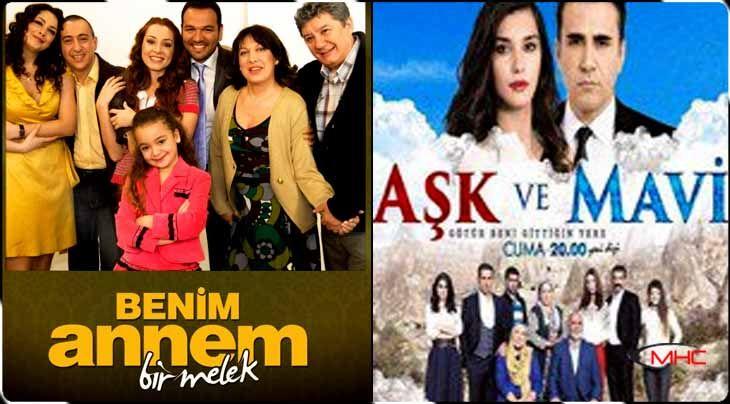 'Benim Annem Bir Melek' ile 'Aşk ve Mavi' Yazın ATV'de! |