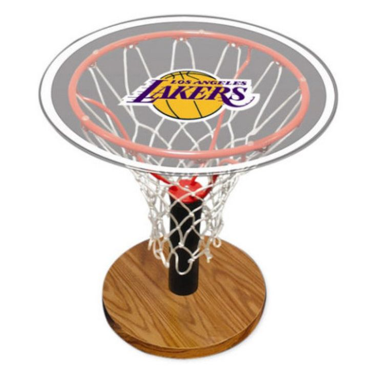 Spalding NBA Basketball Hoop Table - 30LAL