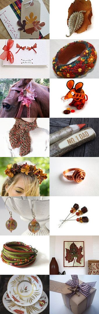 Autumn Warmth by Carolyn Ford on Etsy--Pinned with TreasuryPin.com