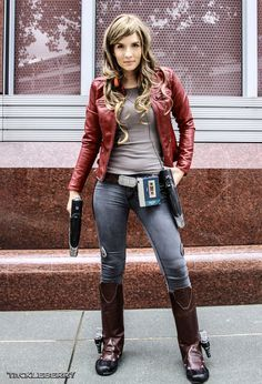 cosplay female STAR LORD