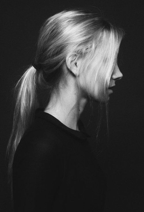 profile / hair