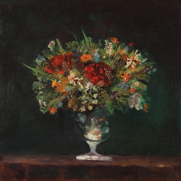 Ștefan Câlția, Glass with flowers