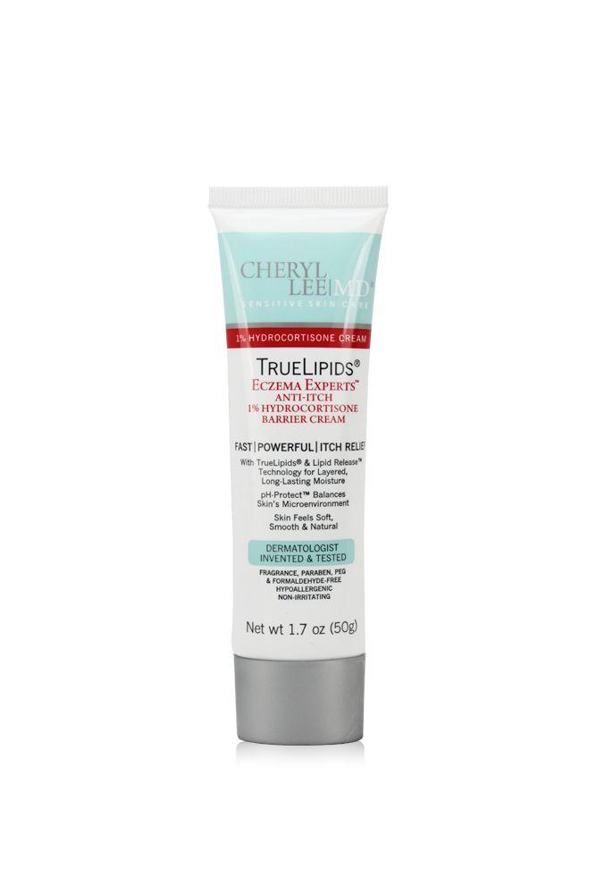 TrueLipids Eczema Experts Anti-Itch 1% Hydrocortisone Barrier Cream - Cheryl Lee MD Sensitive Skin Care - 2