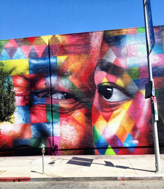 Second Street Art Mural By Brazilian Painter Eduardo Kobra In Los Angeles, USA. 5