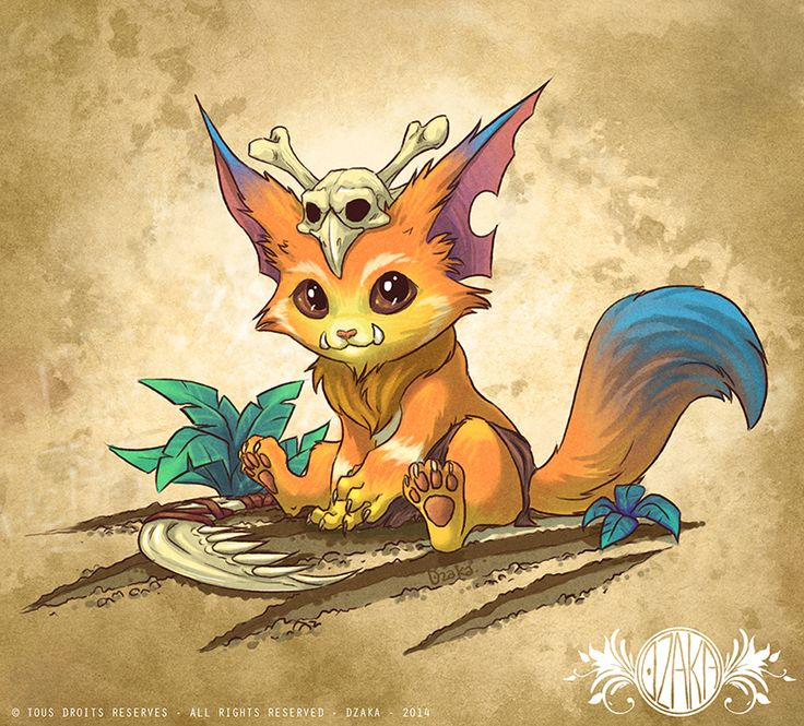 Gnar - League of legends - Fanart by o0dzaka0o.deviantart.com on @DeviantArt