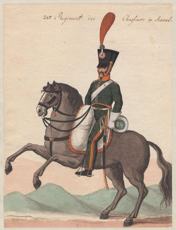France -Chasseur 24th Chasseurs a Cheval Regt.