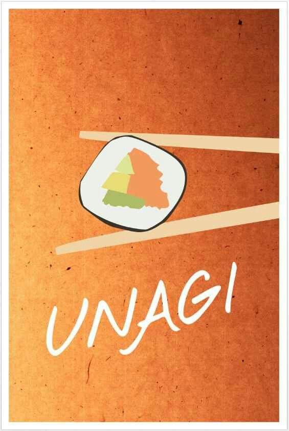 #Friends Poster - Unagi