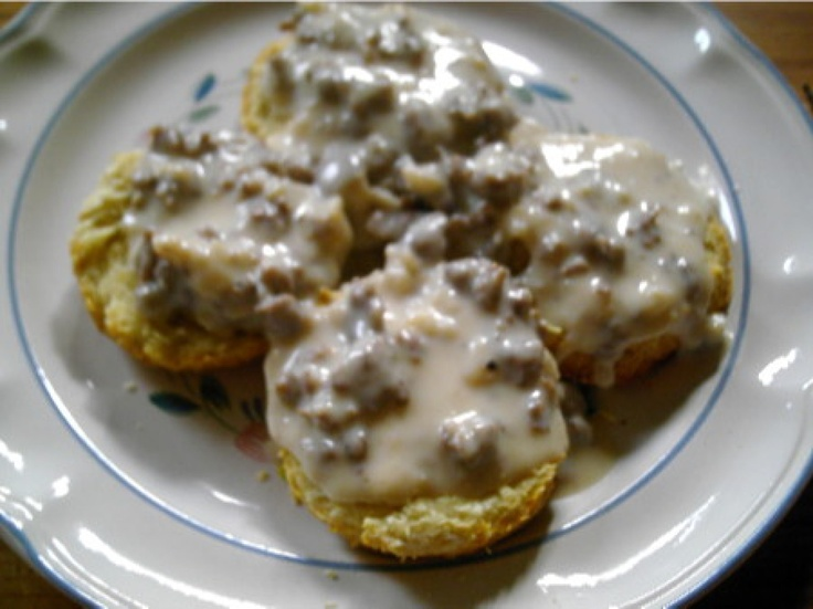 sausage gravy and biscuits this something i make a double batch of and ...