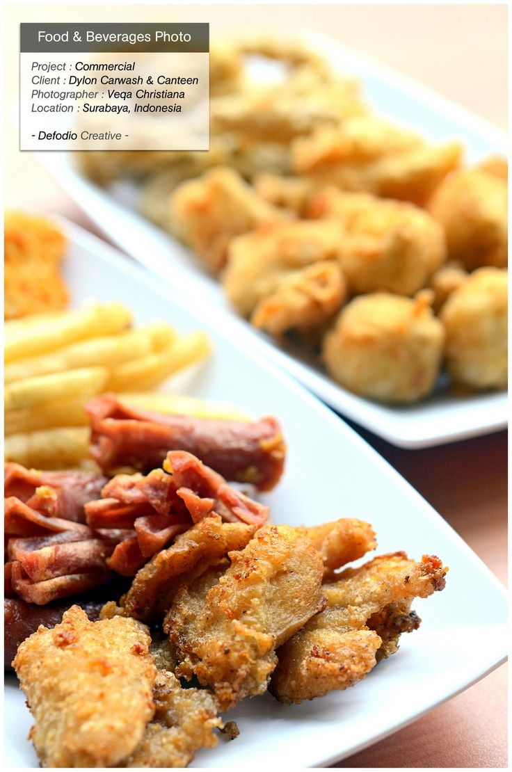 Food photography project for Dylon Car Wash & Canteen