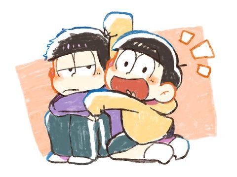 おそ松さん Osomatsu-san 一松&十四松「おそ松ログ③」/「くり」の漫画 [pixiv]