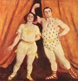 Károly Ferenczy (Hungarian, 1862–1917): Acrobats, 1893. - Google Search