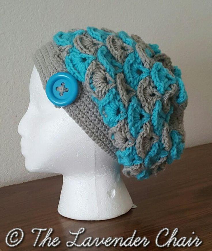 Shelby's Slouchy Beanie Crochet Pattern PDF FILE
